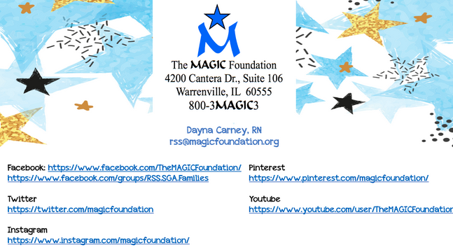The MAGIC Foundation contact details
